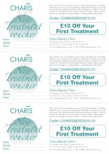 Money-Saving Beauty Voucher Code for Charis Beauty Clinic Angel Islington London